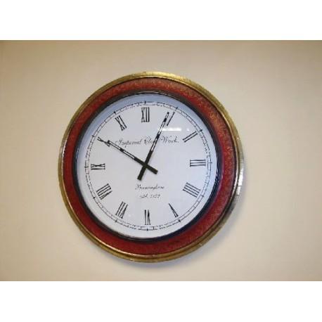 Reloj pared en madera  Romanico